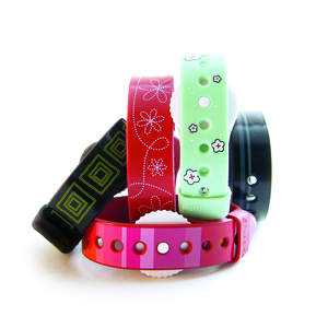 Psi Bands offer nausea relief in five different designs