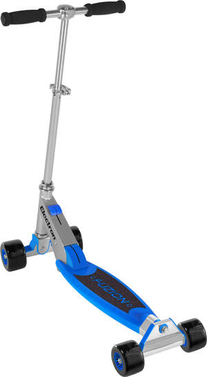 With 4 wheels for stability and a 360 degree rotation for maximum trick execution, the Fuzion Electron from NextSport leads a new generation of ultimate freestyle scooters.