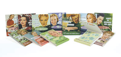 new collection of 12 mini Emery Boards from Anne Taintor, Inc.