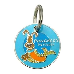 Poochces the Pisces charm