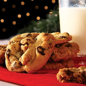 An assortment of delicious Cookies from Home cookies, gently placed in our cookie tin sends your message of warmth and generous giving.