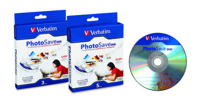Verbatim PhotoSave DVD Media