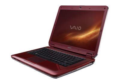 Sangria Red VAIO CS