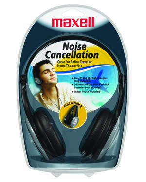 Maxell NC-III Noise Cancellation Headphones