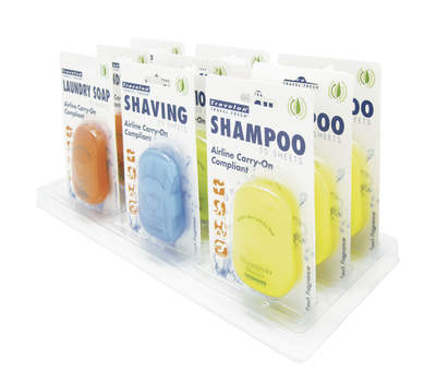 Travelon's Portable Toiletry Sheets