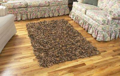 Discount Leather Shag Rugs in Multiple Colors and Sizes at GoShopUs.com. Save 10% OFF with coupon code: gsusavings