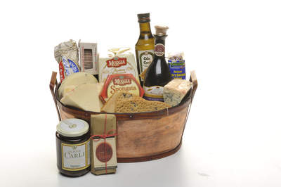 Italian Adventure Gift Basket