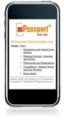 mPassport - My Mobile Medical Passport