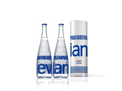 Evian Pret-a-Porter Bottle by Jean Paul Gaultier