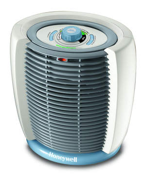The Honeywell Energy Smart Portable Heater: heat the room you are in, not the whole house and save up to 35% off your heating bills