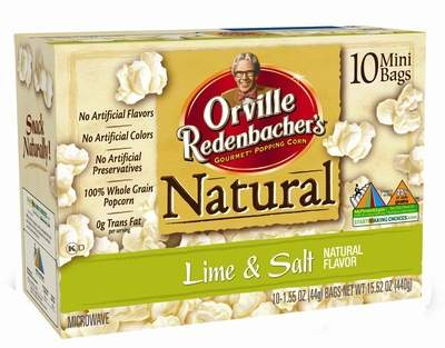 Orville Redenbacher's® Gourmet® Popping Corn Introduces Newest Flavor - Lime & Salt, the perfect snack for popcorn and margarita-lovers!