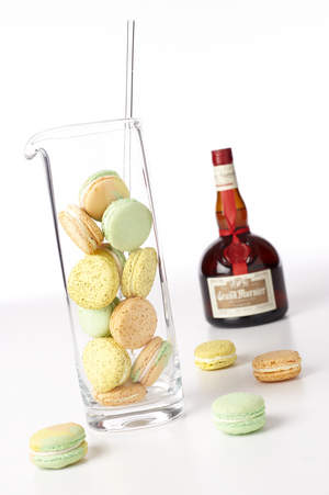 Grand Marnier Cocktail Macaroons