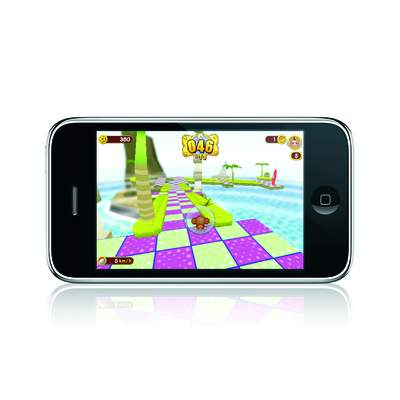 Super Monkey Ball on iPhone