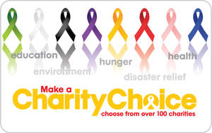 CharityChoice Gift Cards can help make a difference in the lives of others. Holiday cards are also available.