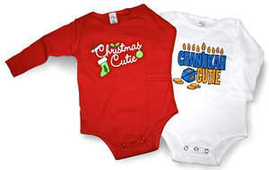Huddy Buddy Holiday Onesies & T-Shirts $25 www.huddybuddy.com