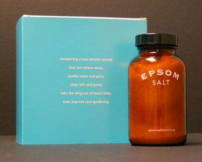 Epsom Salt - the perfect holiday gift.