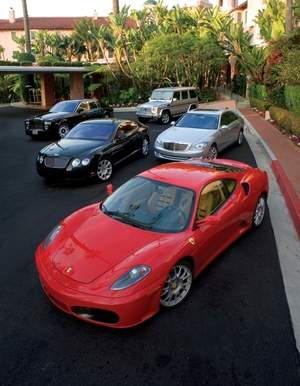 Beverly Hills Rent-A-Car Selection