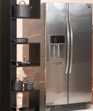 Kenmore Elite Shaved Ice Side-By-Side Refrigerator