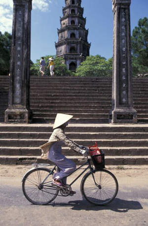 Cycling through Vietnam