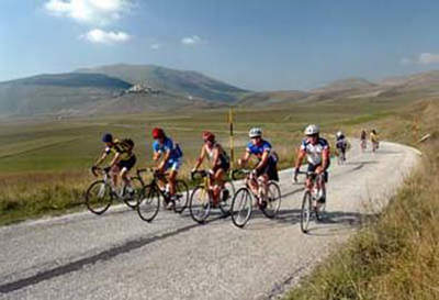 Following the Giro d'Italia routes