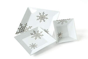 Ty Pennington Style Snowflake Dinnerware  sc 1 st  Splash Magazines & Home and Office Holiday Gift Guide 2008 - Above $40 | Splash ...