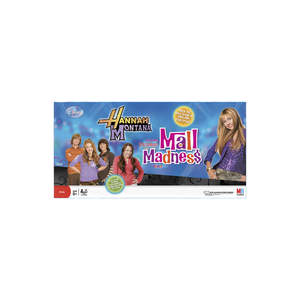 Hannah Montana Mall Madness Game