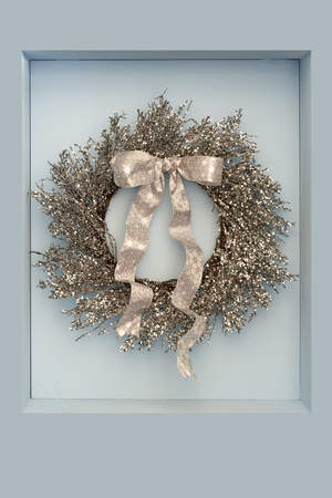 First Snowfall Icy Branch Wreath