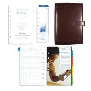 Day-Timer Desk Size Wellness Planner
