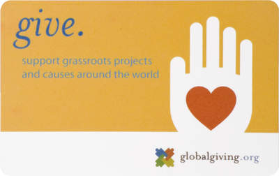 Change the World with a GlobalGiving Gift Card