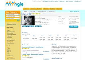 myngle homepage