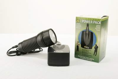 Emergency Power and Flashlight Kit