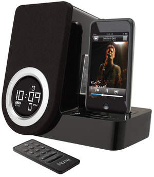 iHome Rotating Alarm Clock for IPod touch & iPod nano