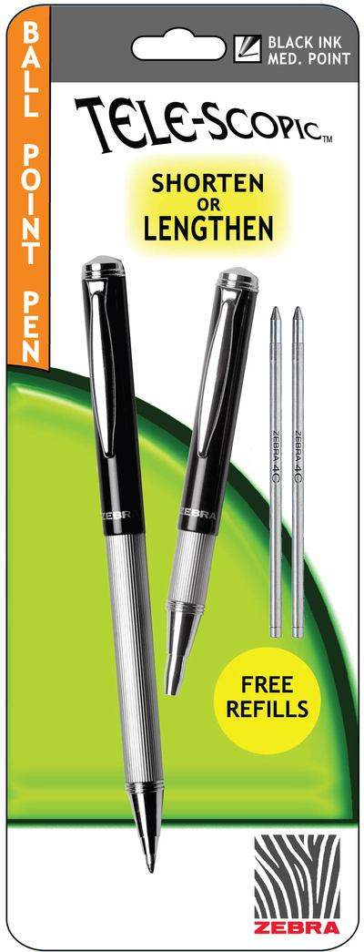 The Tele-scopic Ball Point Pen from Zebra Pen