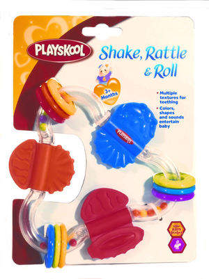 PLAYSKOOL Shake, Rattle & Roll