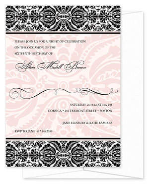 Choose from a variety of invitations and personally customize them!