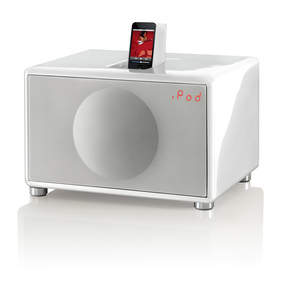 GenevaSound L, Plays iPod, CD with built in FM and line in for other devises