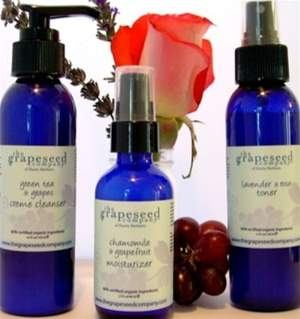 Grapeseed Organic Facial Care Starter Set