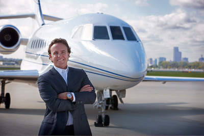 CoGoJets CEO Jamie Walker offers elite travelers the opportunity to save 50-90% off the retail price of a private jet flight