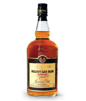 Enjoy the taste of Mount Gay Extra Old this holiday season.