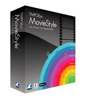TMPGEnc MovieStyle Software