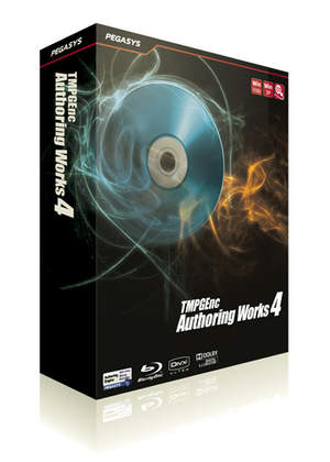 TMPGEnc Authoring Works 4 Software