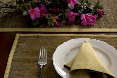 Lulan™ Artisans Luminescence Table runner and Place mat