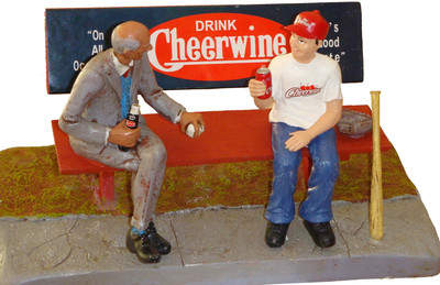 Cheerwine Commemorative Statue