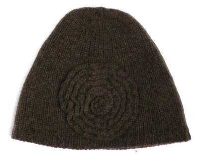 Autumn Cashmere Flower Cap