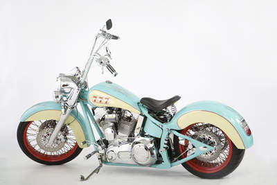 Keith Urban Vengence Motorcycle featured in the MotoStars book.