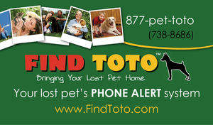 FindToto Pet Recovery System