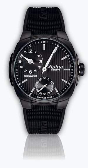 Alpina Full Black Avalanche Extreme Regulator