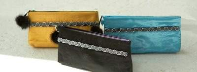 Shantung Clutches from Ootra