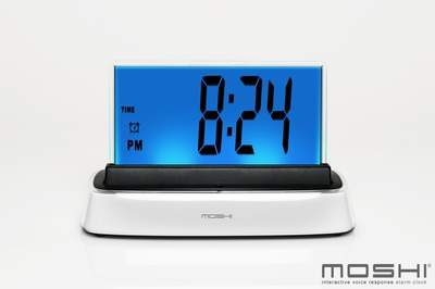 Talk to your clock! Set and Turn off the Alarm with Your Voice!