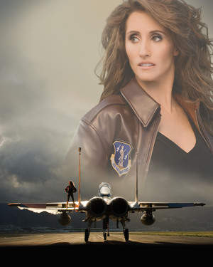 Laura Bryna is the voice of the Air Guard's new ad campaign